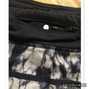 lululemon athletica Skirts - Lululemon Pace Setter Skirt, Great Granite Black